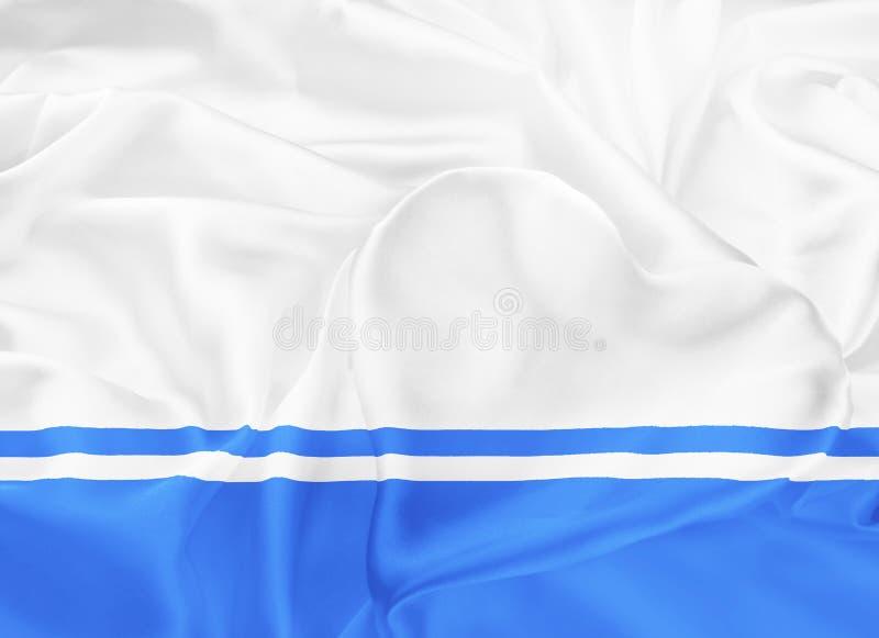 Bandeira da república de Altai ilustração do vetor