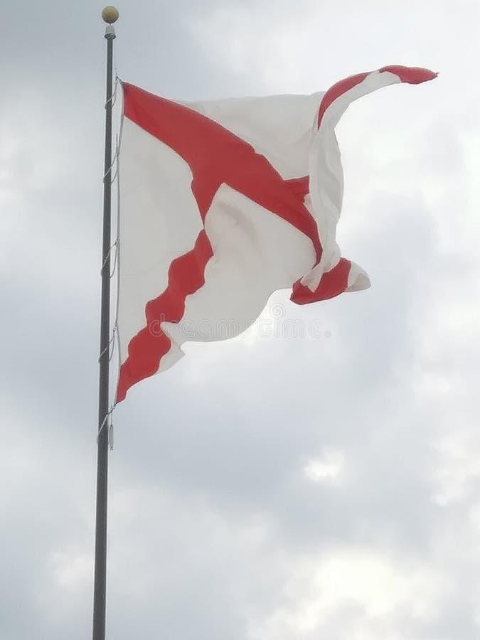 Bandeira de Alabama fotos de stock royalty free