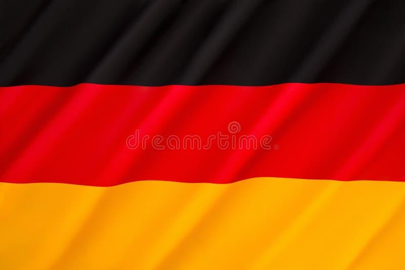 Bandeira de Alemanha imagens de stock royalty free