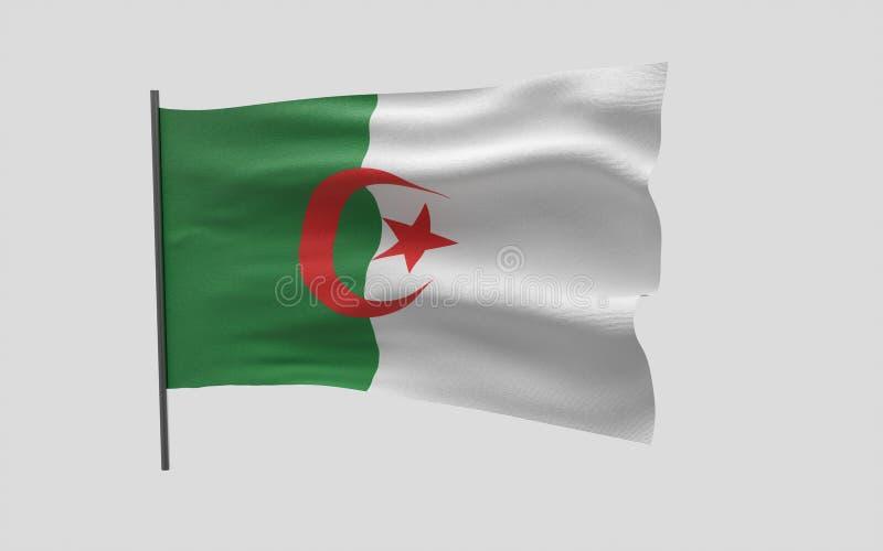 Bandeira de Arg?lia ilustração royalty free