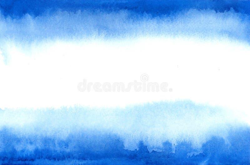 Bandeira de Argentina na escada da aquarela ilustração royalty free