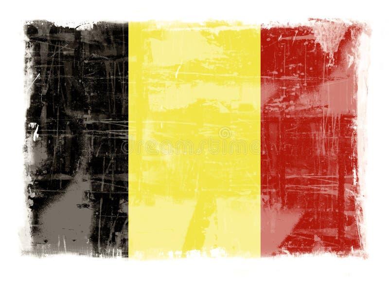 Bandeira de Bélgica ilustração do vetor