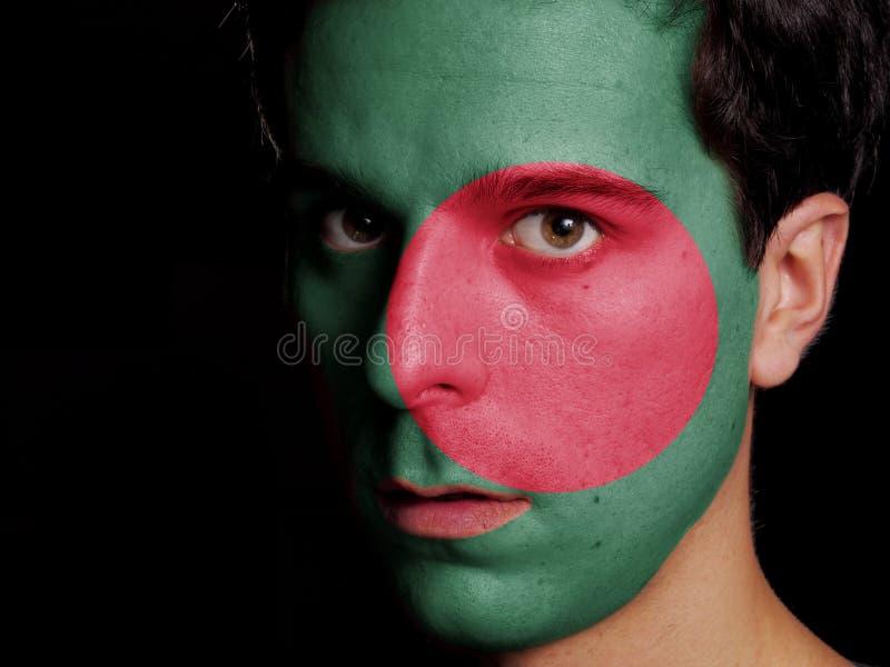 Bandeira de Bangladesh fotografia de stock