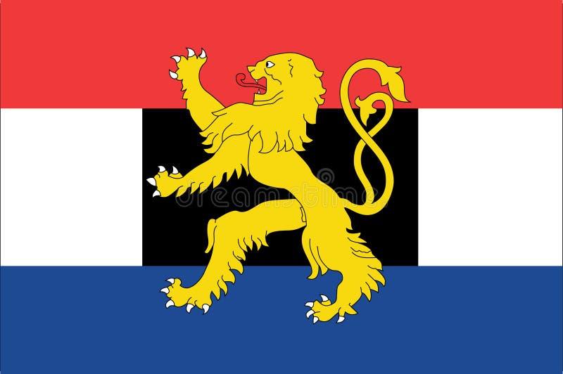 Bandeira de Benelux ilustração do vetor