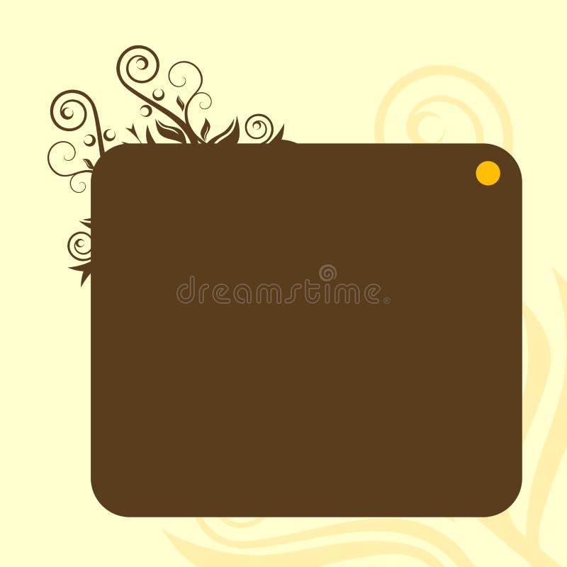 Bandeira de Brown ilustração royalty free
