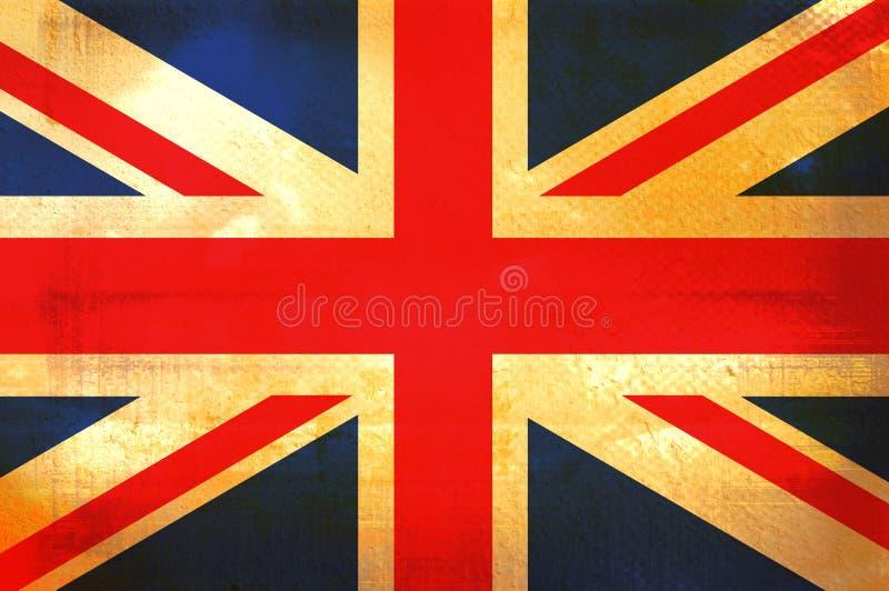 Bandeira de Canadá ilustração stock