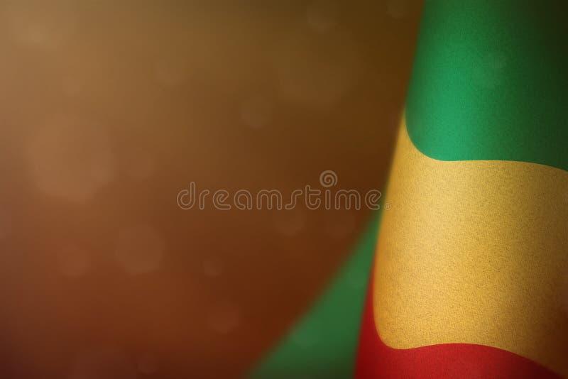 Bandeira de Congo para a honra do dia ou do Memorial Day de veteranos Glória aos heróis de Congo do conceito da guerra no fundo e ilustração stock