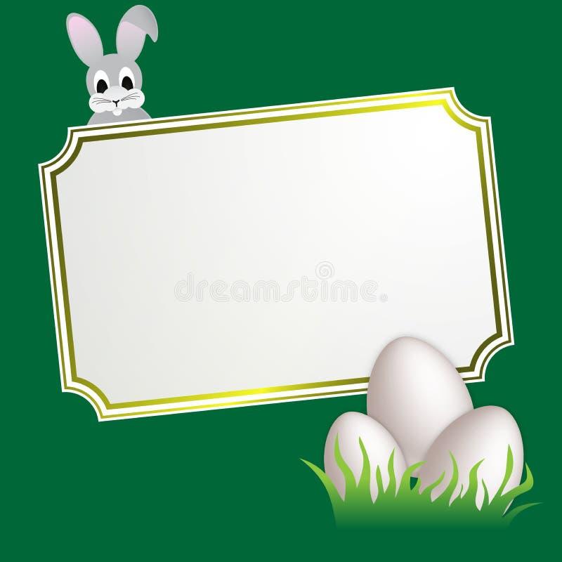 Bandeira de Easter ilustração royalty free