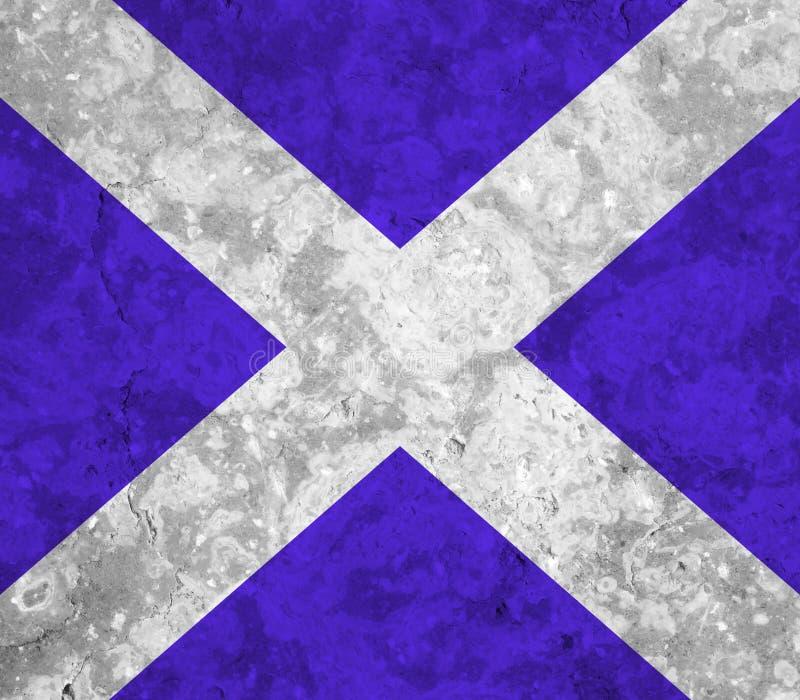 Bandeira de Escócia ilustração royalty free