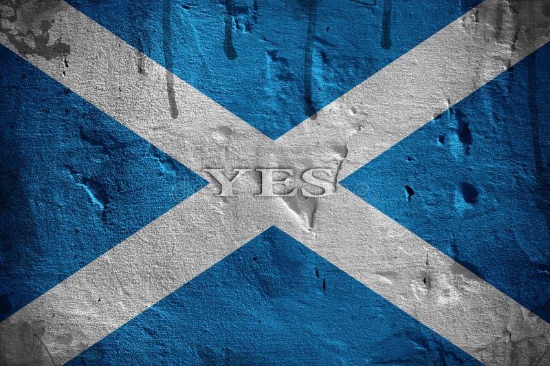 Bandeira de Escócia imagens de stock royalty free