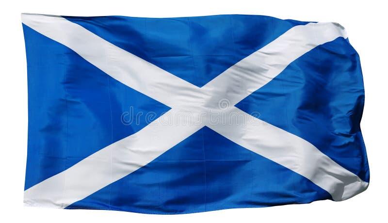 Bandeira de Escócia - isolado imagem de stock