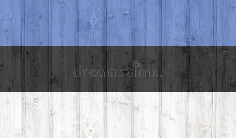 Bandeira de Est?nia ilustração stock