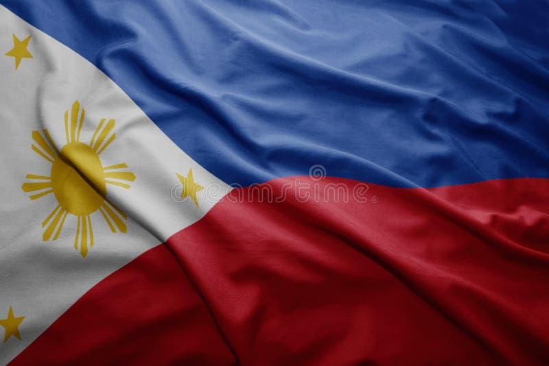 Bandeira de Filipinas fotos de stock royalty free