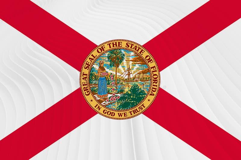 Bandeira de Florida ilustração stock
