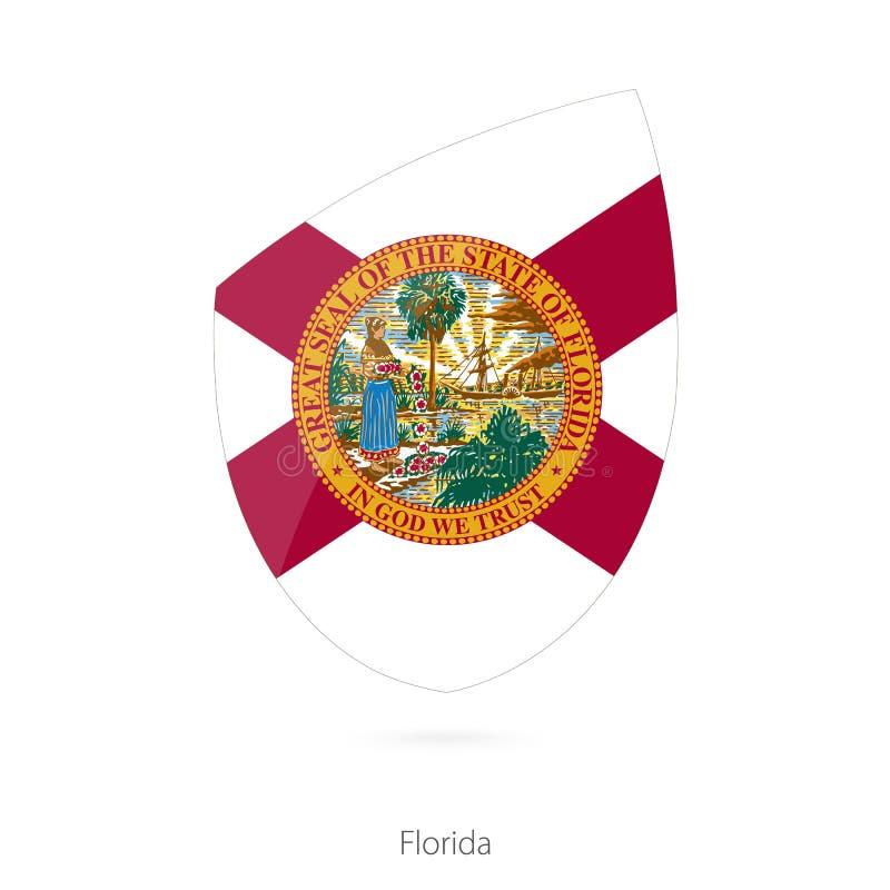 Bandeira de Florida ilustração do vetor