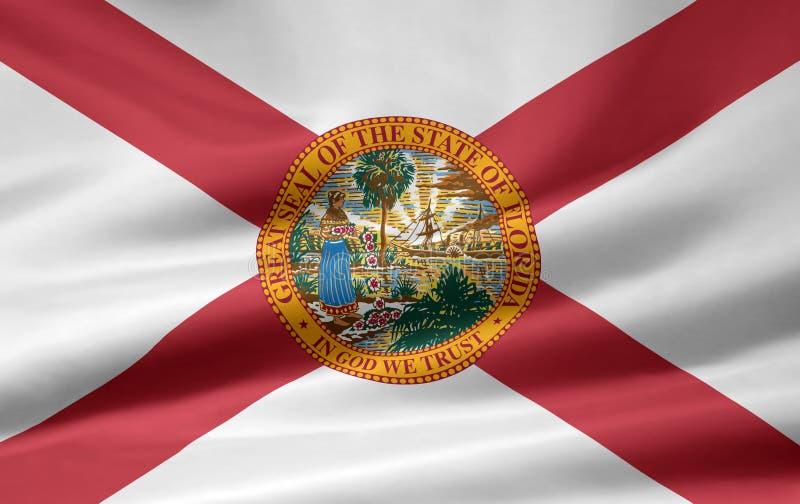 Bandeira de Florida ilustração royalty free