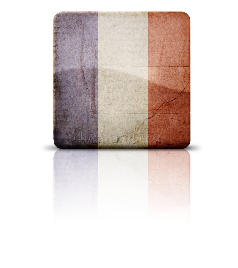 Bandeira de France foto de stock royalty free