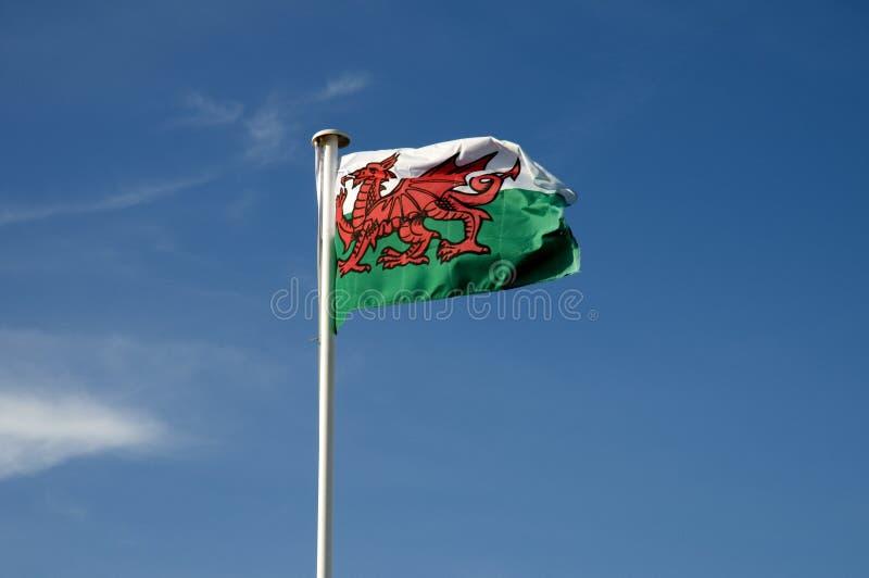Bandeira de Galês fotos de stock