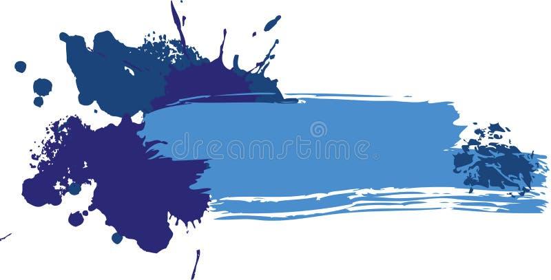 Bandeira do Grunge foto de stock
