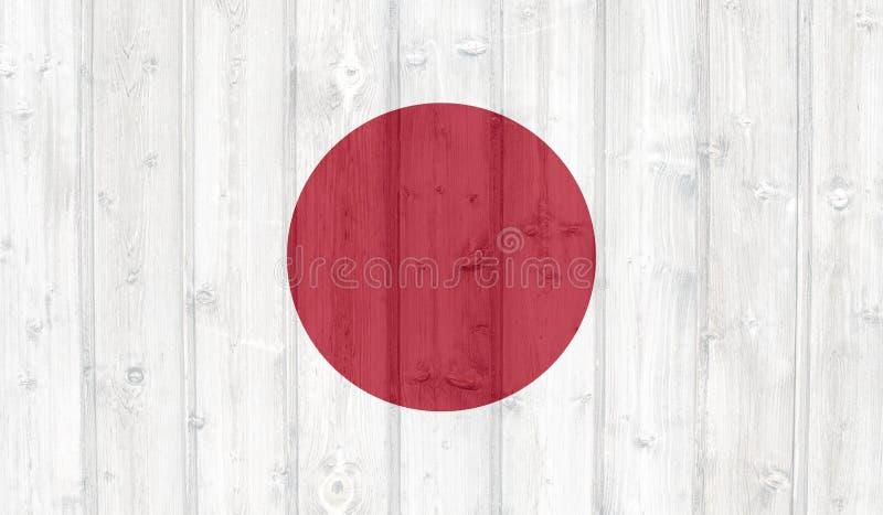 Bandeira de Grunge Jap?o ilustração stock