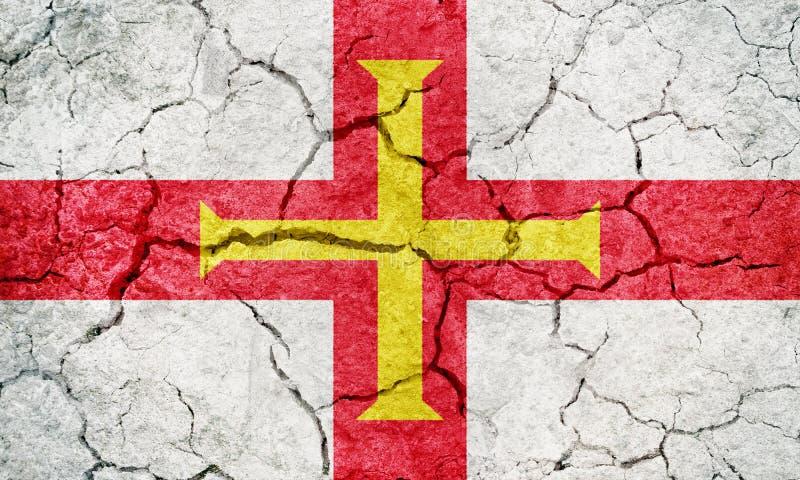 Bandeira de Guernsey imagens de stock royalty free