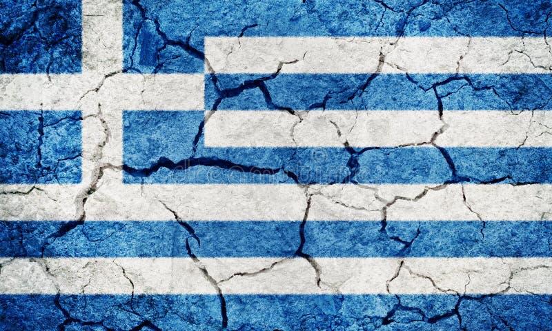 Bandeira de Hellenic Republic imagem de stock