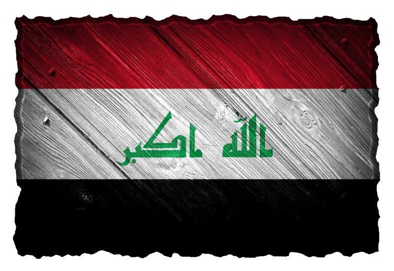 Bandeira de Iraque fotos de stock royalty free