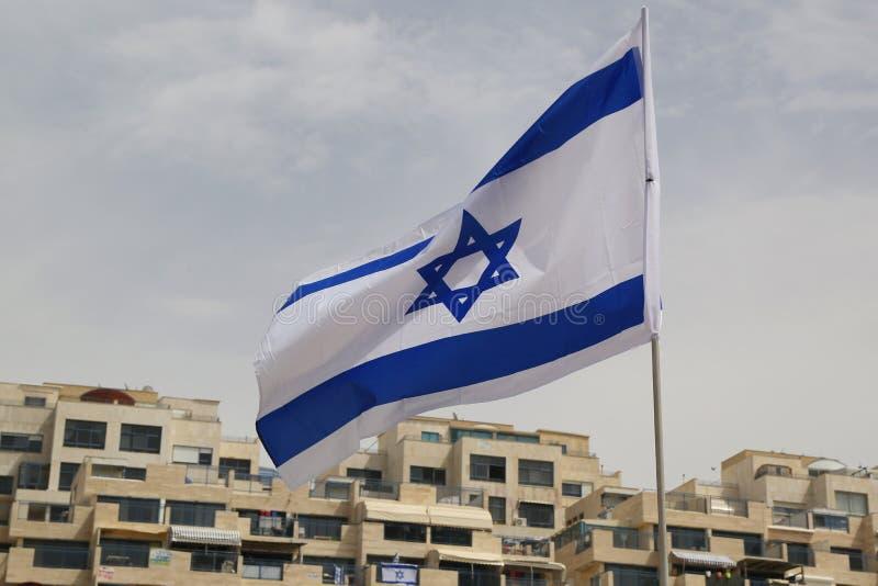 Bandeira de Israel fotos de stock royalty free