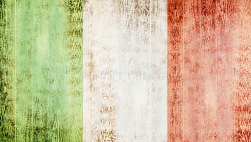 Bandeira de Italy fotos de stock