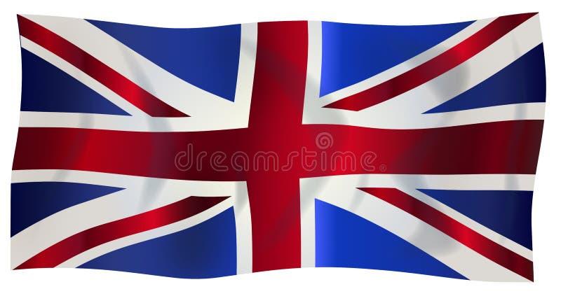 Bandeira de Jack de união ilustração royalty free