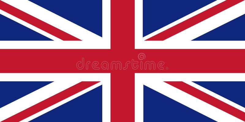 Bandeira de Jack de união ilustração stock