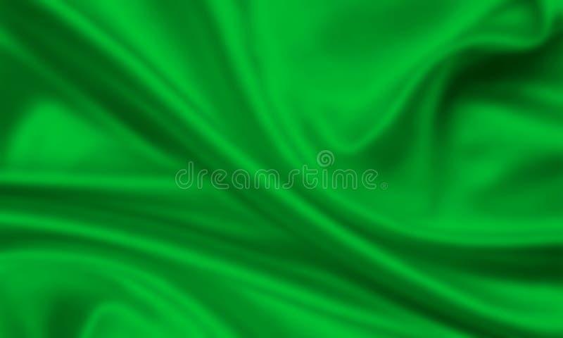 Bandeira de Líbia ilustração royalty free