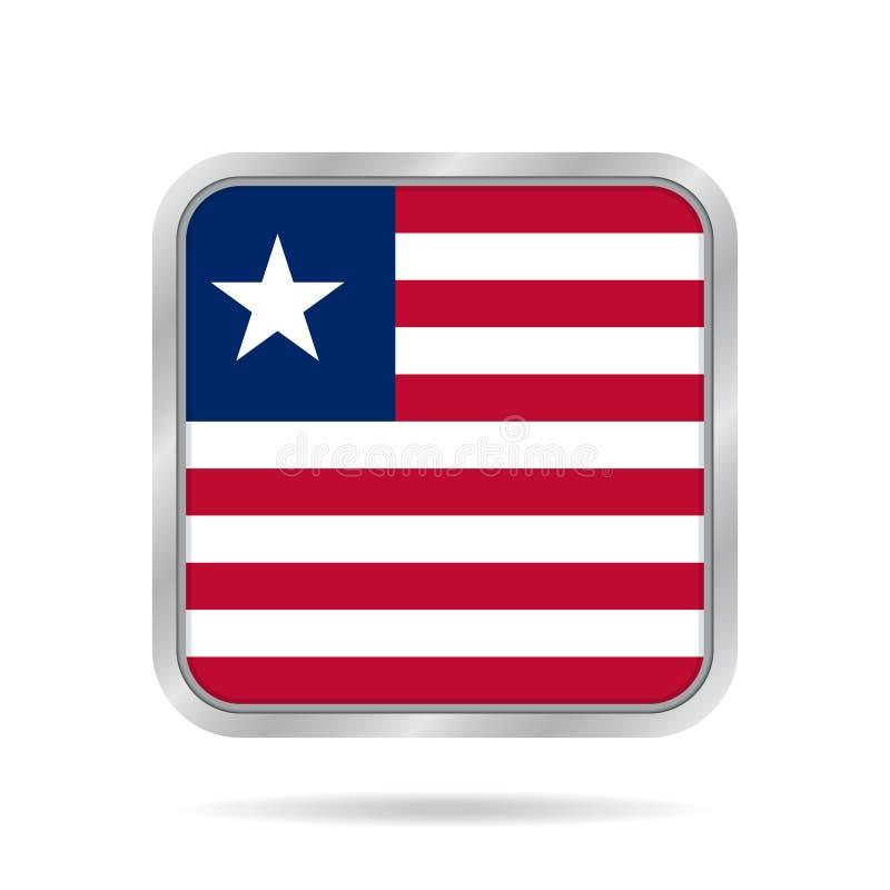 Bandeira de Liberia E ilustração royalty free