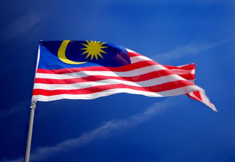 Bandeira de Malaysia fotos de stock