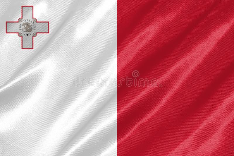 Bandeira de Malta imagem de stock royalty free