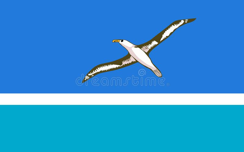 Bandeira de Midway Islands Ilustra??o do vetor Bandeira do mundo ilustração do vetor