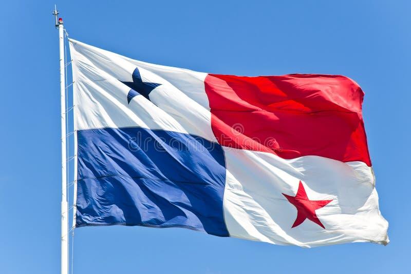 Bandeira de Panamá imagem de stock