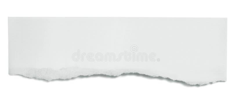 Bandeira de papel rasgada fotos de stock