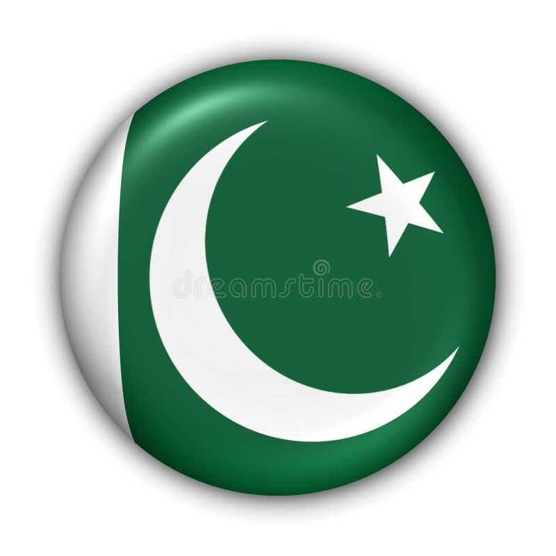 Bandeira de Paquistão ilustração royalty free