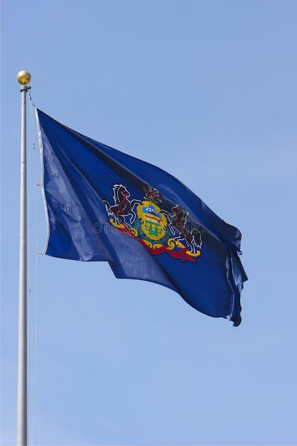 Bandeira de Pensilvânia fotos de stock royalty free