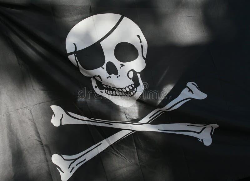 Bandeira de pirata imagem de stock royalty free