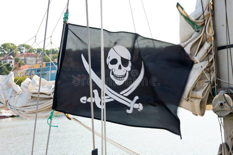 Bandeira de piratas imagem de stock royalty free