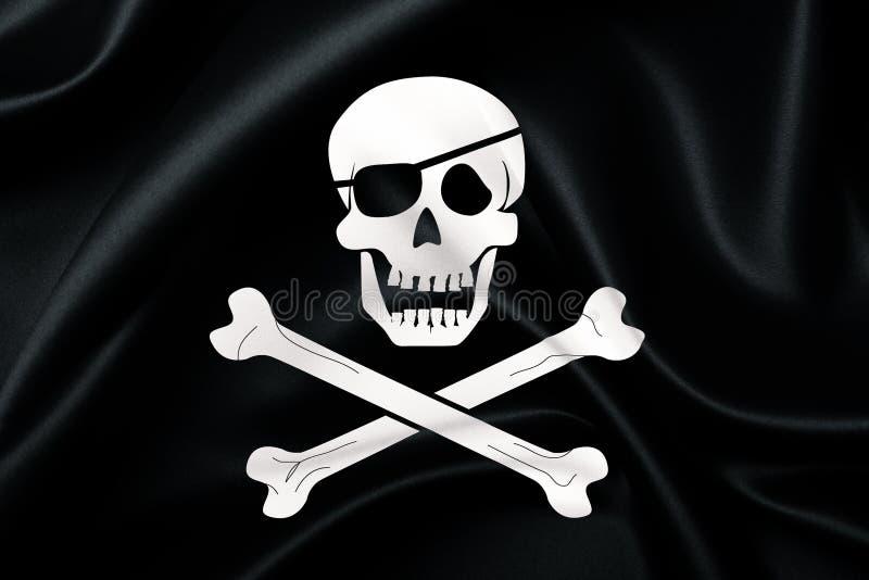 Bandeira de piratas foto de stock royalty free