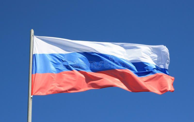 Bandeira de Rússia. imagens de stock royalty free
