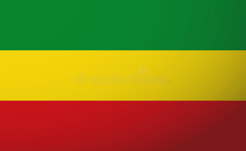 Bandeira de Rasta ilustração do vetor