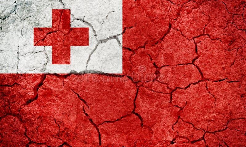 Bandeira de Reino da Tonga ilustração do vetor