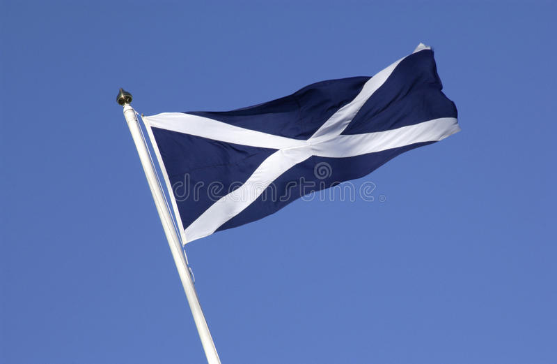 A bandeira de Scotland