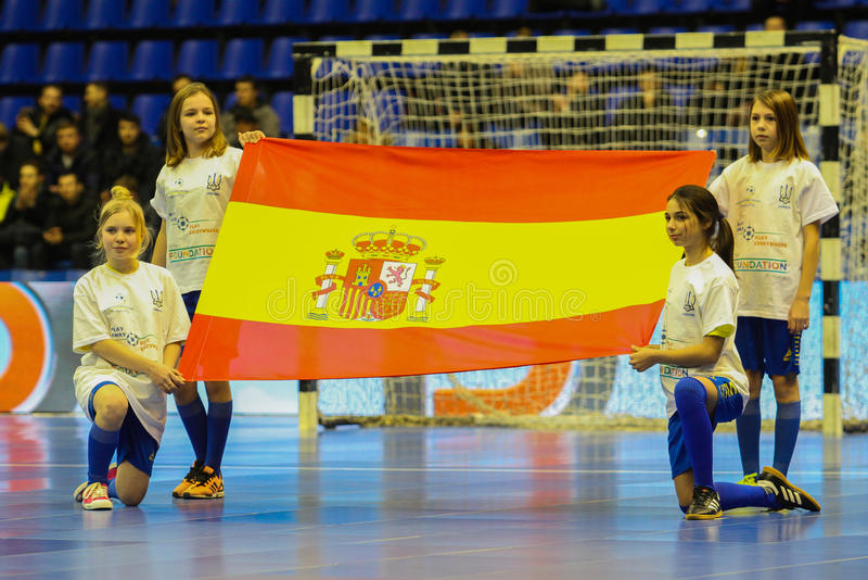 Bandeira de Spain fotos de stock