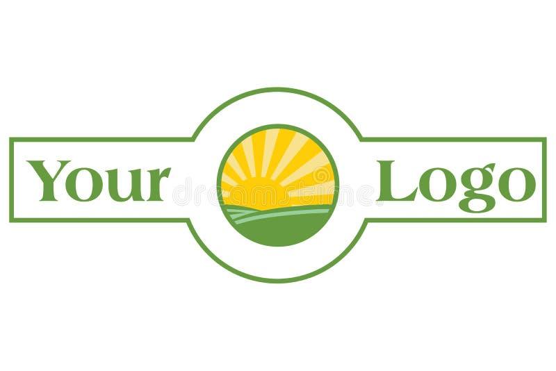 Bandeira de Sun ilustração do vetor