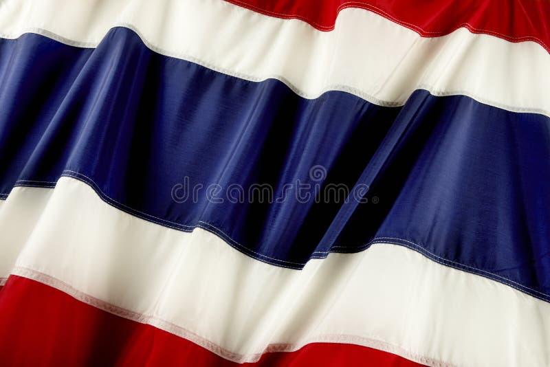 Bandeira de Tailândia foto de stock